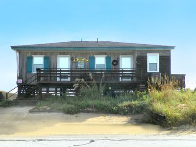 Photo for OCEANFRONT & THE BEACH IS AT YOUR FEET! 4 BRs, WIFI, OUTSTANDING OCEAN VIEWS!