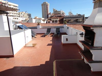 Photo for Duplex apartment with terrace-solarium, in Fuengirola center, 250 m. of the beach