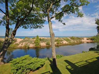 Photo for Lake Michigan beachfront. 2bed/2bath. Updated 2017!