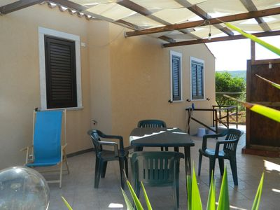 Photo for OFFER-SPRING, in a villa with garden and sea view