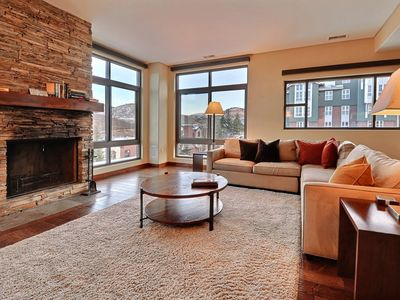 Photo for Luxurious Ski-in/Ski-Out Penthouse at Base of Park City Resort with 2 kitchens