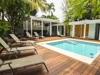 Photo for Casa Margarita: Amazing Location W/ Private Pool, Huge Deck & Private Parking