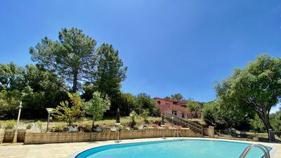 Photo for Residence with pool. Two Rooms apt. for 4 persons.