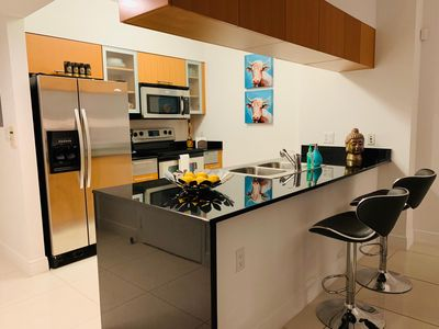 Photo for Downtown Miami,  Luxury Apartment 1bedroom, 1 bath witn parking