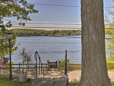Photo for Cozy Waterfront Cottage on Copake Lake w/ Dock