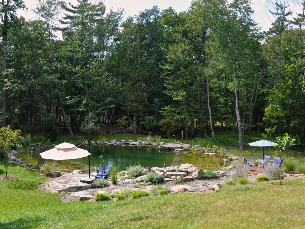 Totally Private Affordable 1 Br 3 Acr Pond Pool Wifi Ac Tv Deck Sleeps 4 Kingston Hudson