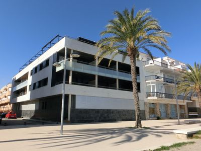 Photo for Central apartment, modern and simple, with some views to the Port beach. Located just 20 m