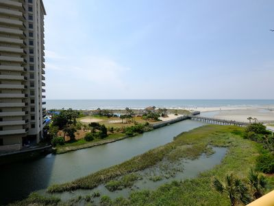 Ocn Creek ST HH4-3BR/2BA Oceanfront Condo, ask about Monthly Rentals!