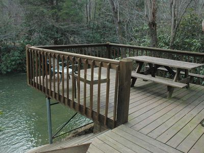 Photo for At Creek Bend Escape you can Fish Right Out Your Back Door!