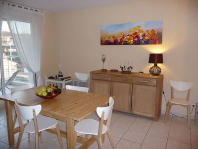 Photo for F3, large and bright, 70m ² near the port of Seyne sur mer, 2 terraces E-O