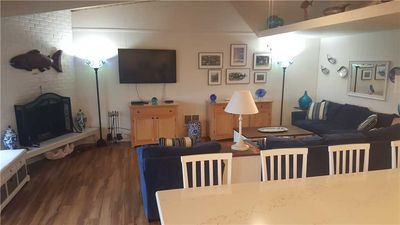Photo for Updated 2 bedroom pet friendly ocean condo. Easy beach access. No cleaning fee