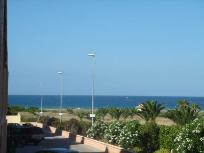 Photo for ZAHARA OF TUNAS (Cadiz) .BAJO with GARDEN. SWIMMING POOL. GARAGE. 1º line of half-wild beach, view to the sea and mountain