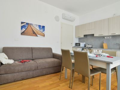 Photo for Comfortable one bedroom apartment in Maciachini area