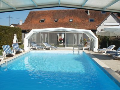 Photo for Gite in Touraine with pool, in the heart of the Loire Valley