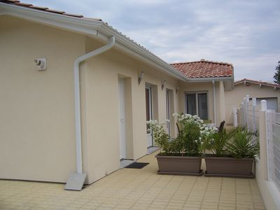 Photo for New house of 93 sqm for 6 people, quiet area