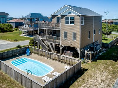 Photo for Beachcomber's Paradise | 295 ft from the beach | Dog Friendly, Private Pool, Hot Tub