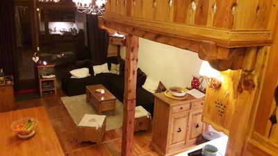 Photo for At the foot of the slopes Warm duplex on the ground floor Serre Chevalier (Villeneuve)
