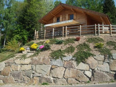 Photo for Chalet NEW, VENTRON with SAUNA, WIFI, terrace 75 m2 SOUTH full, Htes Vosges