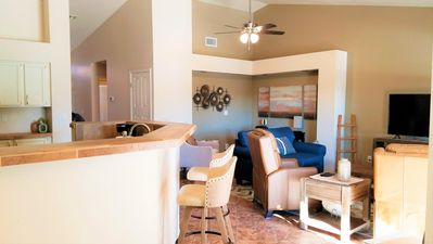 Newly Updated - Open Kitchen, Family Room and Office Nook