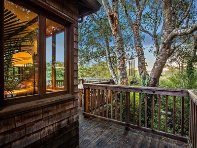 Photo for The InverNest. Treetop cabin rich in Inverness charm.