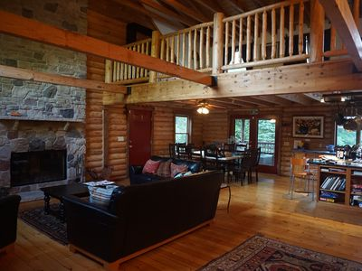 Photo for Fantastic Log Cabin-Perfect for Families! Sleeps 22
