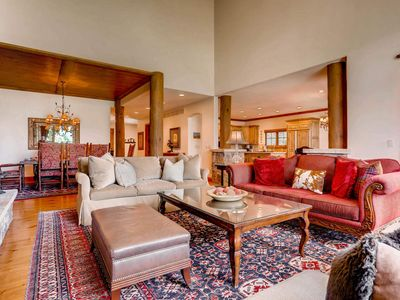 Photo for NEW! Large Townhome on Golf Course, Steps from Free Village Shuttle: Mountain Harmony