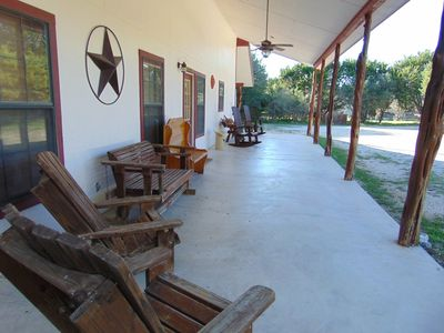 Photo for Walk to Frio River, Gated, Volleyball, Private Comanche Crossing River Acces