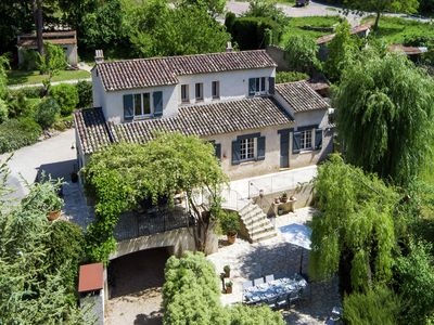 Photo for Country-style renovated villa, with private pool and 500 m from the village