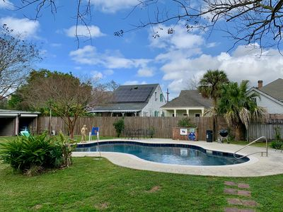 Photo for Large renovated Bywater apartment with a pool for 31 days or longer!