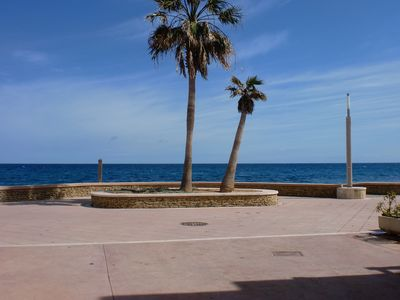 Photo for Large house on the beach in Carboneras in Cabo de Gata Natural Park