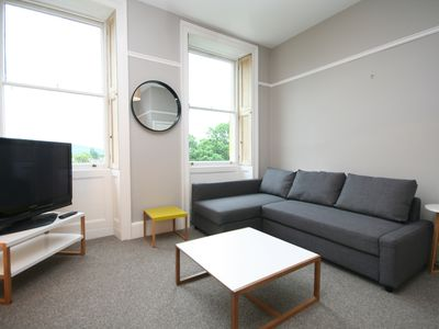 Photo for LANSDOWN REGENCY STYLE APARTMENT, WALKING DISTANCE TO TOWN, OFF ROAD PARKING