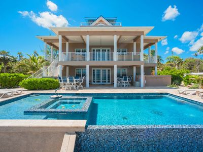 Photo for Our Cayman Cottage: Spacious Family Beach House w/ Pool, Spa, Kayaks, + Arcade Room
