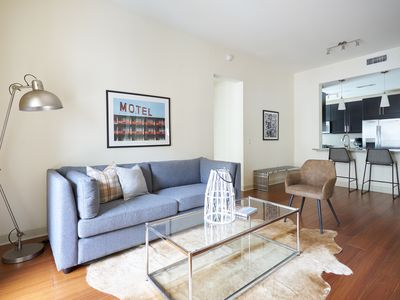 Photo for Sonder | Waterwall | Airy 2BR + Laundry