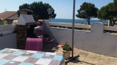 Photo for Villa, all mod cons, enclosed with seaside view