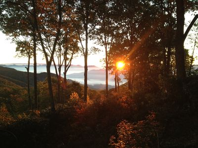 Photo for Amazing 4 bedroom 2 bath  mountain  home at 5000 feet in maggie valley .