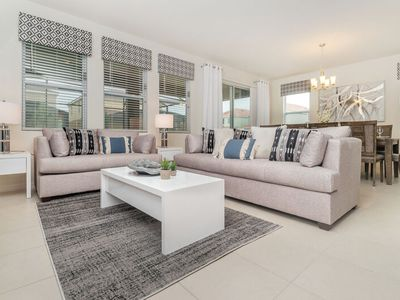 Photo for Beautiful 7b/5.5bath Solterra Home minutes from major Orlando Attractions