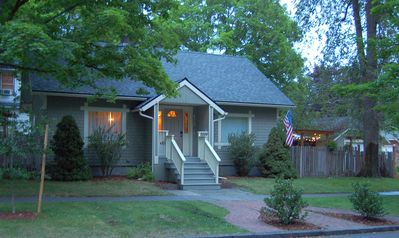 Photo for Downtown Bungalow - walk to lake, downtown, parks & trails