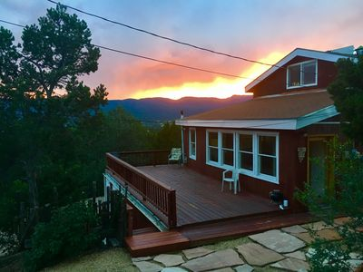 Photo for NEWLY RENOVATED PRIVATE MOUNTAIN HOME WITH HOT TUB