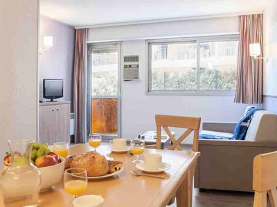 Photo for Pierre & Vacances Residence Promenade des Bains ** - 2 Room Apartment 6 Standard People