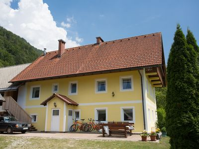 Photo for Apartments in a quiet location in the middle between Lake Bohinj and Lake Bled