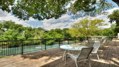 Photo for Updated Riverfront Condo with private access to Comal River from back yard!