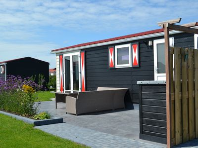 Photo for Cozy chalet in Zeeland not far from the beaches and Veere and Middelburg