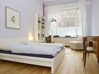 Photo for Sonnen apartment in Prenzlauer Berg with WiFi, private terrace & lift.