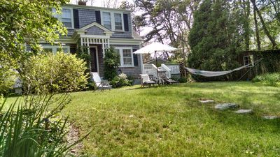 Photo for Garden living near museum in Vineyard Haven