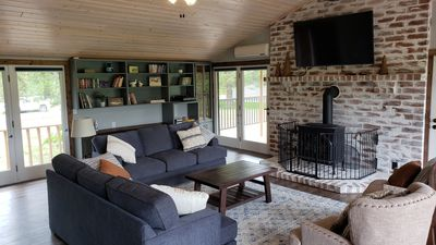 Photo for Glacier park views on the golf course! Great for Families.