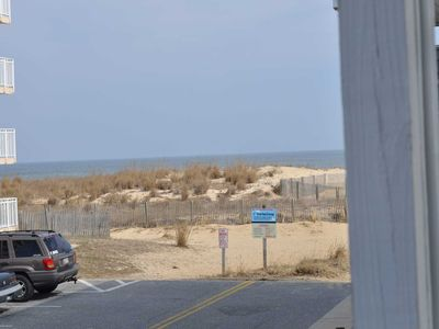 Photo for Ocean View, End unit on First Level, Covered Parking, Linen included Unit 1