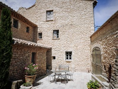 Photo for Superb house in the heart of an authentic Luberon village