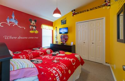 Photo for DISNEY'S DOORSTEP VILLA ONLY 2.5 MILES TO DISNEY, MAKEOVER MARCH 2018 GAMES ROOM