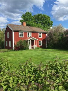 Vacation in Småland in a typical Swedish house with Geschichte🇸🇪