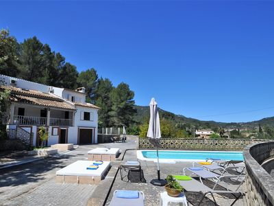 Photo for Calendar 2021 Opened- LAS ENCINAS- House with private pool and sauna in Esporles. - Free Wifi